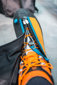 Scarpa Phantom Tech offers superior protection thanks to its waterproof zip